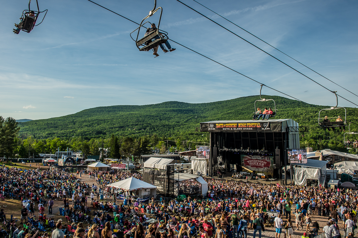 Taste Of Country Music Festival At Hunter Mountain Great