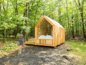 Glamping Cabin at Gather Greene in Coxsackie, NY