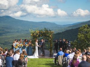 wedding at Hunter mtn