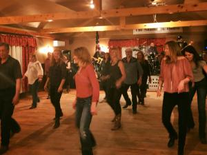 Line Dancing Shamrock House East Durham NY