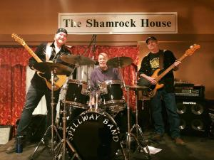 Shamrock House Spillway Band Feb 16
