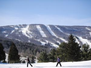 Windham Mountain Resort skiiers