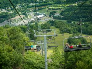 Hunter Mountain Scenic Skyride views