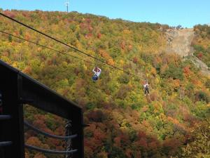 New York Zipline Adventure Tours at Hunter Mountain