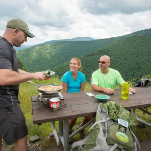 mountain top cooking in the catskills