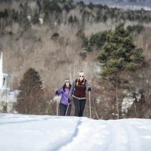 cross country skiing in the catskills