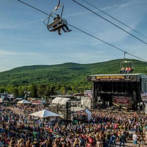 summer music festival in the catskills