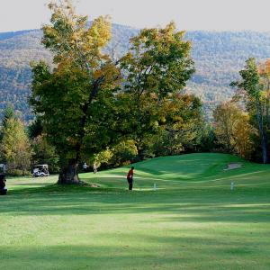 golf course in the Catskills