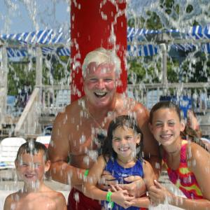 family at Zoome Flume Waterpark