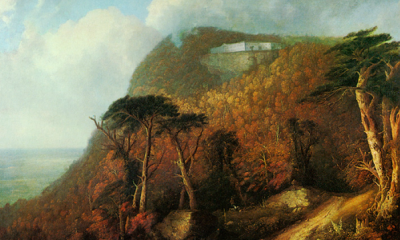 Catskill Mountain House by Thomas Cole
