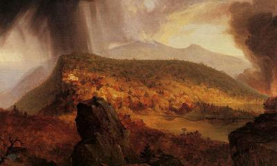 Catskill Mountain House: The Four Elements by Thomas Cole