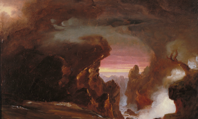 Compositional Study - The Voyage of Life: Manhood by Thomas Cole