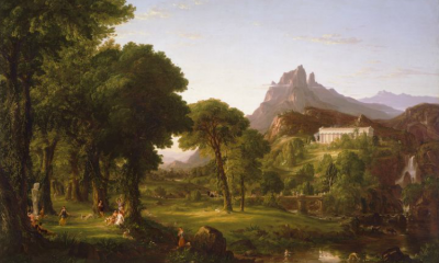 Dream of Arcadia by Thomas Cole