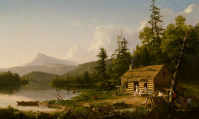 Home in the Woods by Thomas Cole