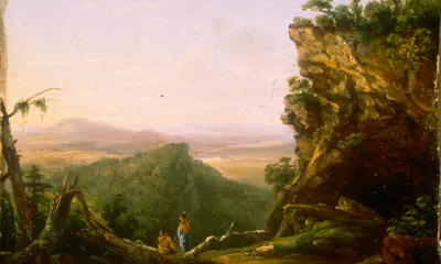 Indians Viewing Landscape by Thomas Cole