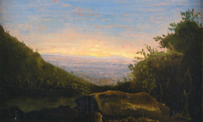 Landscape, Sunrise in the Clove by Thomas Cole