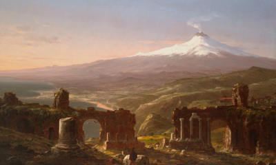Mount Etna From Taormina, Sicily by Thomas Cole