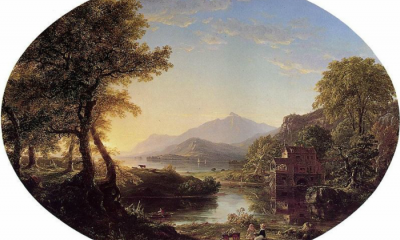 Old Mill at Sunset by Thomas Cole