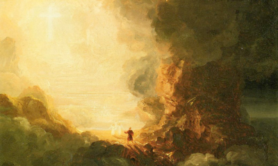 Pilgrim of the Cross by Thomas Cole