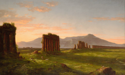 Roman Campagna (Ruins of Aqueducts in the Campagna Di Roma) by Thomas Cole