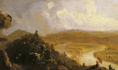 Sketch for View from Mount Holyoke, Northampton, Massachusetts, After A Thunderstorm (The Oxbow) by Thomas Cole