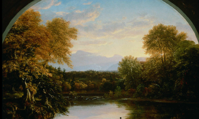 Sunset in the Catskills by Thomas Cole