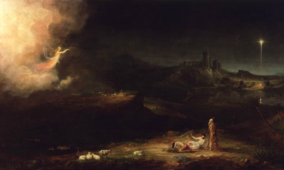 The Angel Appearing to the Shepherds by Thomas Cole
