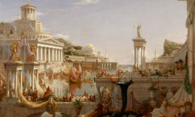 The Course of Empire: The Consummation of Empire by Thomas Cole