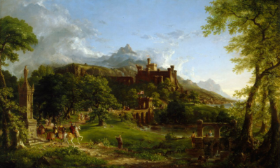 The Departure by Thomas Cole
