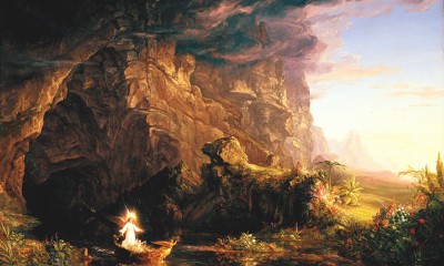 The Voyage of Life: Childhood (First Set) by Thomas Cole