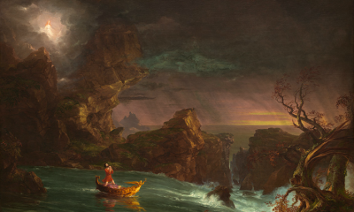 The Voyage of Life: Manhood (First Set) by Thomas Cole