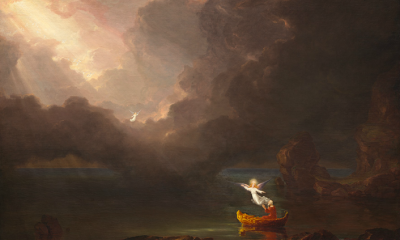 The Voyage of Life: Old Age (First Set) by Thomas Cole