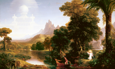 The Voyage of Life: Youth (First Set) by Thomas Cole