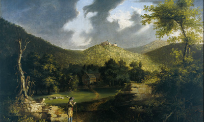 View of Fort Putnum by Thomas Cole