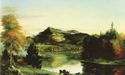 View of the Hoosac Mountain by Thomas Cole