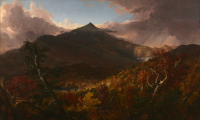 View of Schroon Mountain, Essex County, New York, After a Storm by Thomas Cole