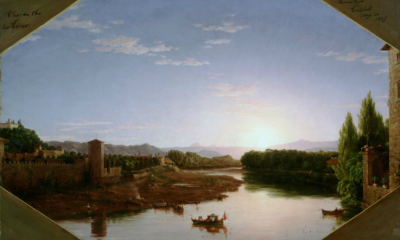 View of the Arno, Near Florence by Thomas Cole