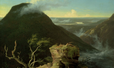 View of the Round-Top in the Catskill Mountains (Sunny Morning on the Hudson) by Thomas Cole