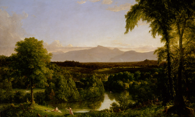 View on the Catskill, Early Autumn by Thomas Cole