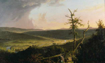 View on the Schoharie by Thomas Cole
