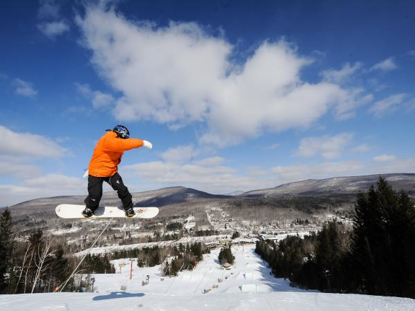 Hunter Mountain skiing in the Catskills