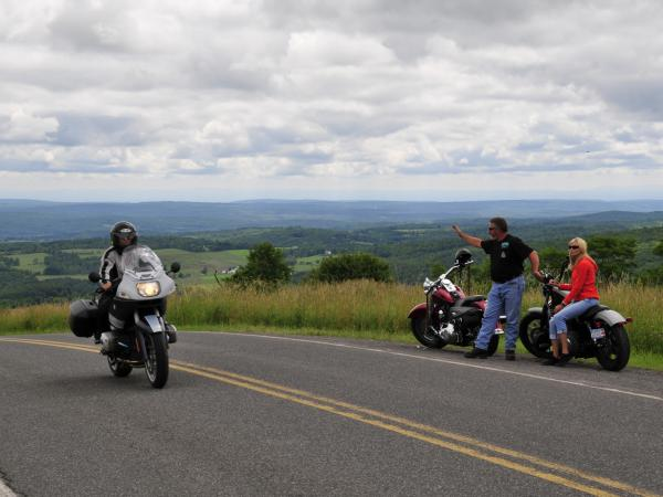 Motorcycling in the Catskills