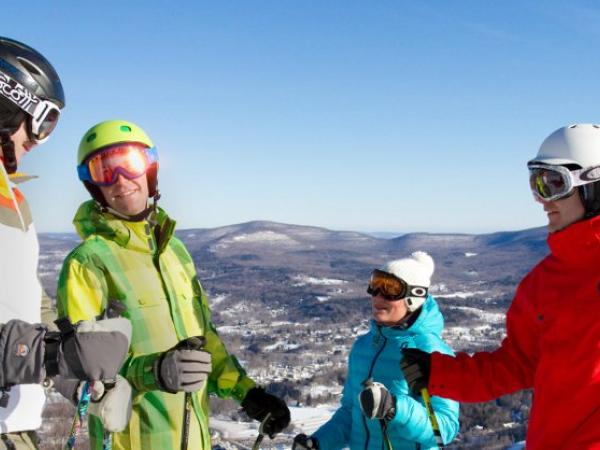 Windham Mountain skiing in the Catskills