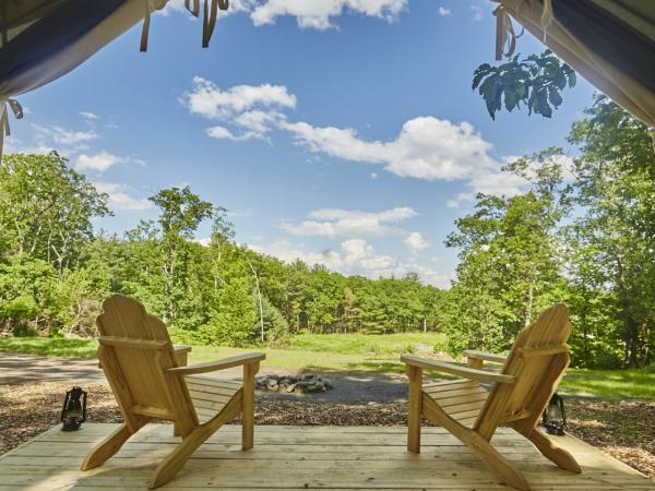 glamping in the catskill mountains