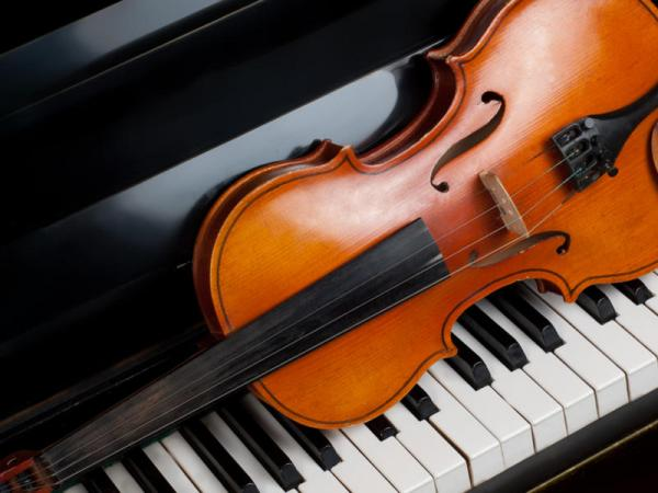 Violin and Piano - performing arts in the Catskills