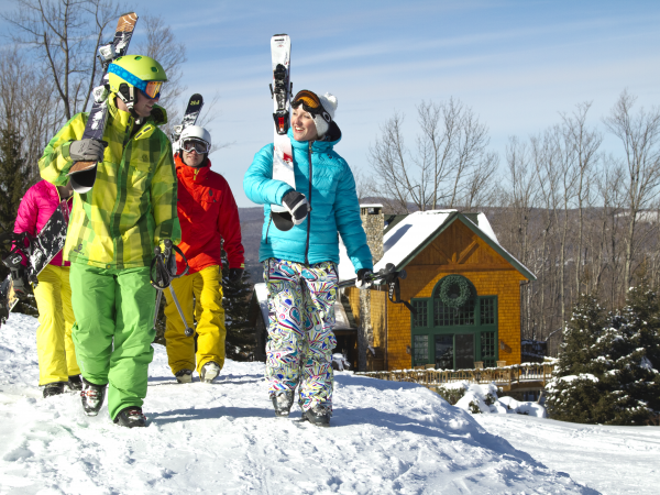 Winter ski package group