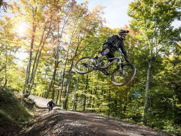 mountain biking at windham