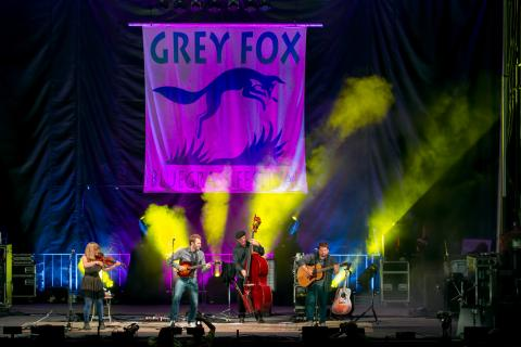 Grey Fox music festival in the Catskills