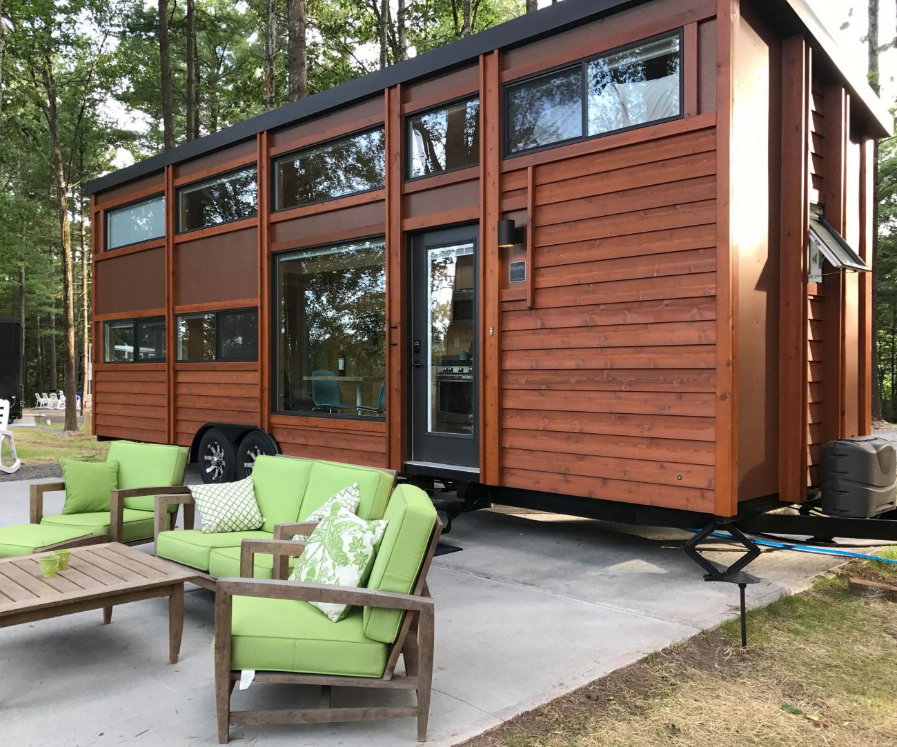 A Tiny House Tour Goat Walk Package Great Northern Catskills Of